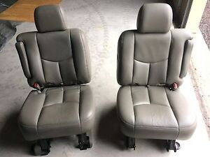 GMC Chevrolet middle row captain chairs  Kingston Kingston Area image 3