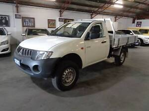 TIDY 2WD ALLOY TRAY 2008 Mitsubishi Triton Ute 3 YEARS AWN WTY Bentley Canning Area Preview