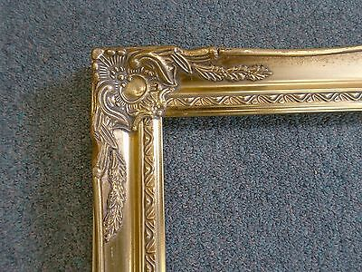 Picture Frame- Vintage Bright & Dark Gold Antique Ornate Classic Baroque 18 x 24