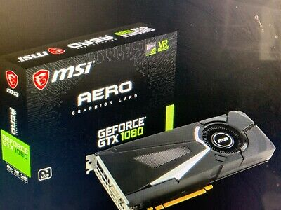 MSI Aero GeForce GTX 1080 8GB (OC Edition) Graphics Card for sale  Shipping to South Africa