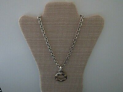 """New Old Stock"" Vintage Gucci Style Link 24kt Gold Electroplated 50"" Necklace"