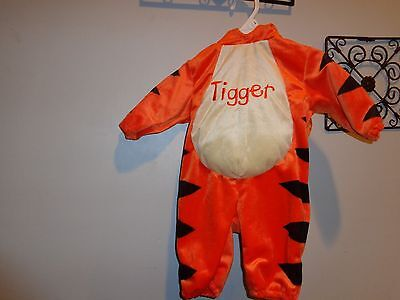 Infant Tigger Costume ( TIGGER DISNEY BABY STORE DELUXE COSTUME 3 MONTHS  2) 9 MONTHS )
