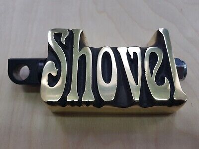 ::Shovelhead,Harley footpegs, kickstart pedal ,SHOVEL, custom project ,solid BRASS