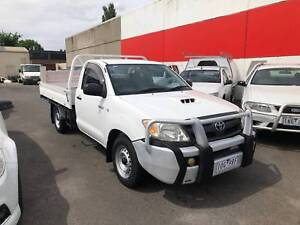 2005 Toyota Hilux SR CAB CHASSIS Ute Lilydale Yarra Ranges Preview