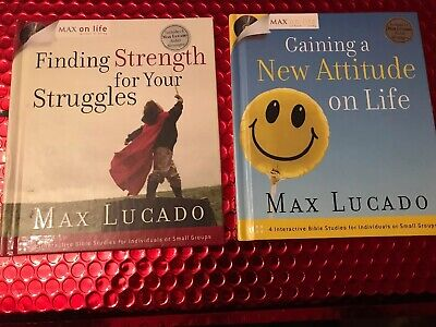 Interactive Bible Studies For Small Groups Max Lucado Includes Audio Messages Cd