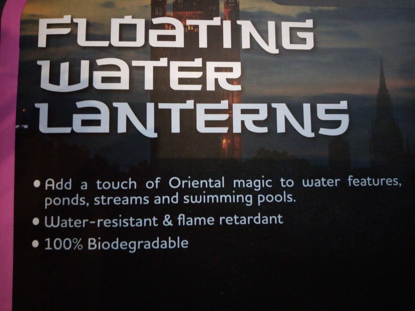 Floating Water Lanterns - Schwimmende Wasserlaternen