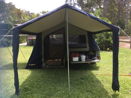 Oztrail camping trailer