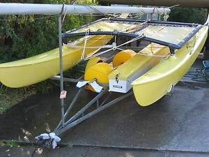 Hobie 16ft with 2 sets sails + as new beach wheels Ryde Ryde Area Preview