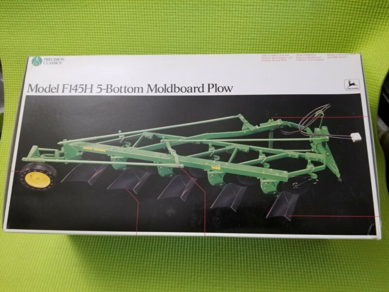 Vintage John Deere Precision Classics Model F145H 5-Bottom Moldboard Plow