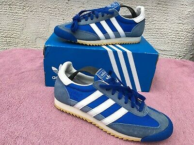 ADIDAS DRAGON VINTAGE UK 7     trx 80 casuals SL72 76 80 rom MARATHON New York
