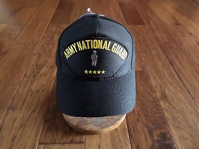 U.S ARMY NATIONAL GUARD HAT U.S MILITARY OFFICIAL HEADWEAR BALL CAP  U.S.A MADE National Guard Hat