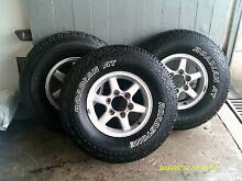 Nissan 4X4 WHEELS & TYRES Clunes Lismore Area Preview