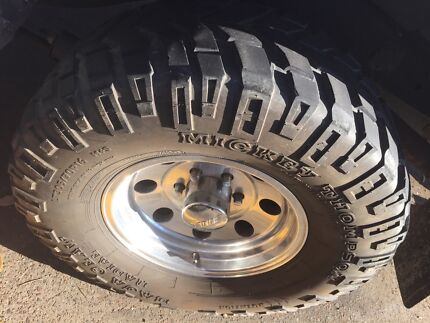 Mud Tyres Mickey Thompson Baja Claw 305/70/16 fit Patrol landcruiser Winmalee Blue Mountains Preview
