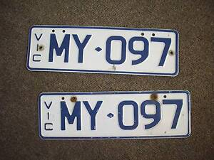 Personalised Vic number plates MY097 South Melbourne Port Phillip Preview