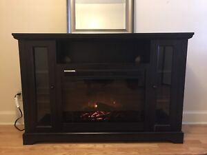 Fireplace/heater/media stand