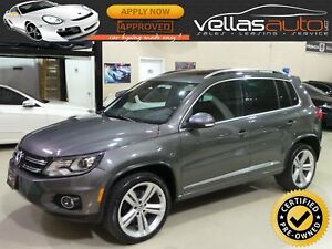 2014 Volkswagen Tiguan 2.0TSI| R-LINE| 4MOTION| 19ALLOYS| PAN...