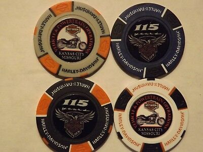 Harley Davidson 115th Anniversary KC Vehicle & Powertrain Operations Poker Chip