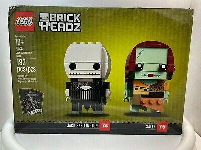 LEGO BrickHeadz Disney Jack Skellington 74 Sally 75 # 41630