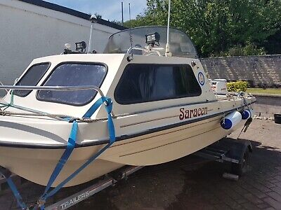 15ft rare seahog superhog fishing boat