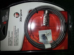 Targus PA410U DEFCON CL Notebook Computer Cable Lock