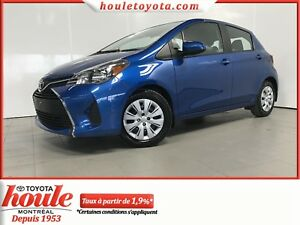 Toyota Yaris Hayon Hayon 5 portes, boîte automatique, LE