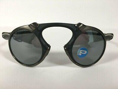 New OAKLEY MADMAN BLACK IRIDIUM POLARIZED Sunglasses OO6019-02 PEWTER