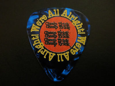 RICK NIELSEN CHEAP TRICK We're All  Alright 2017 CONCERT USED Guitar Pick