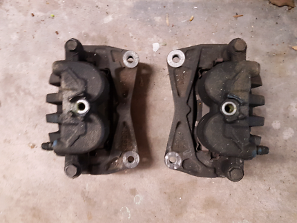 2007 FORESTER XT FRONT BRAKE CALIPERS