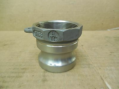 Etc Stainless Ss Male Cam-lock Cam-lever 316ss 2 Female Npt New