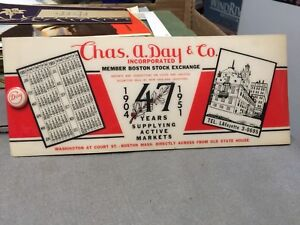 Chas. A. Day & Co. Incorporated - Memo pad (c) 1951 Vintage