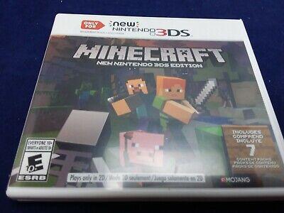Nintendo 3DS Minecraft - USED