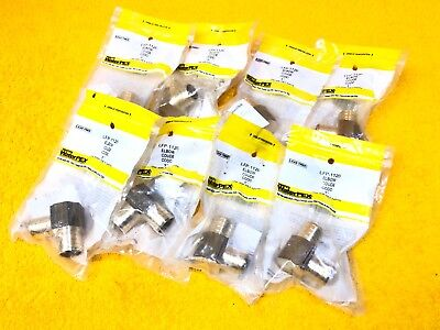 New Lot Of 8 Watts Waterpex Lfp-1120 Solid Brass 1 Pex Tubing Elbow