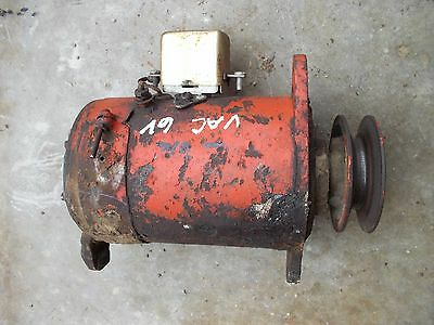 Case Vac Tractor 6v Generator Belt Drive Pulley Good Working 6v Ready To Use