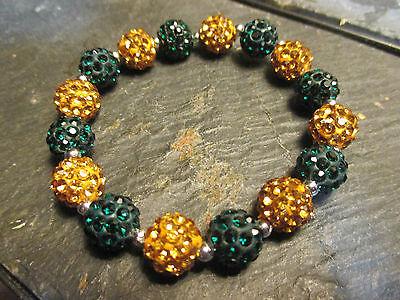Green Bay Packers *Bling* Crystal-Rhinestone-Green/Gold (Packers Rhinestone)