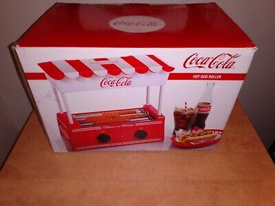 Cocacola Hot Dog Cooker Machine With Bun Warmer