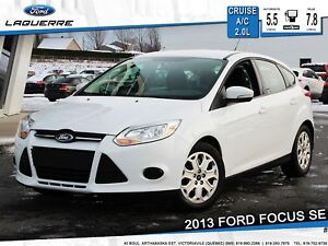 2013 Ford Focus SE **BLUETOOTH*CRUISE*A/C*SIÈGES CHAUFFANTS**