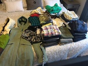 Lot of women's clothing, Lululemon, bench, AE, roots etc..