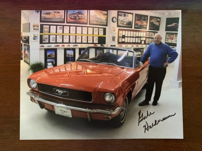 Gale Halderman Signed 8x10 Photo Autographed Ford Mustang Concept Designer
