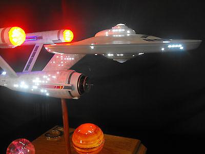 StarTrek Enterprise LEDLit &Sound 350ScalePolarLights Model/Diorama Collectible