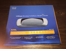 Cisco Linksys ADSL2+ Modem Router New Farm Brisbane North East Preview