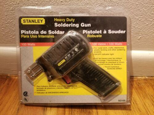 New Unopened Stanley Heavy Duty Soldering Gun Iron Tool SG100 100W 120V