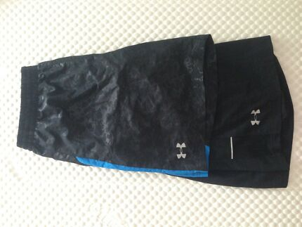 Under armour mens gym shorts exc cond