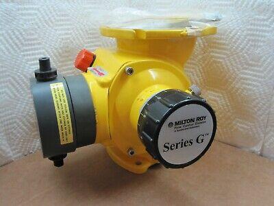 Milton Roy Metering Pump D46x8pm4nnn 8.3 Gph 150 Psi Fast Shipping