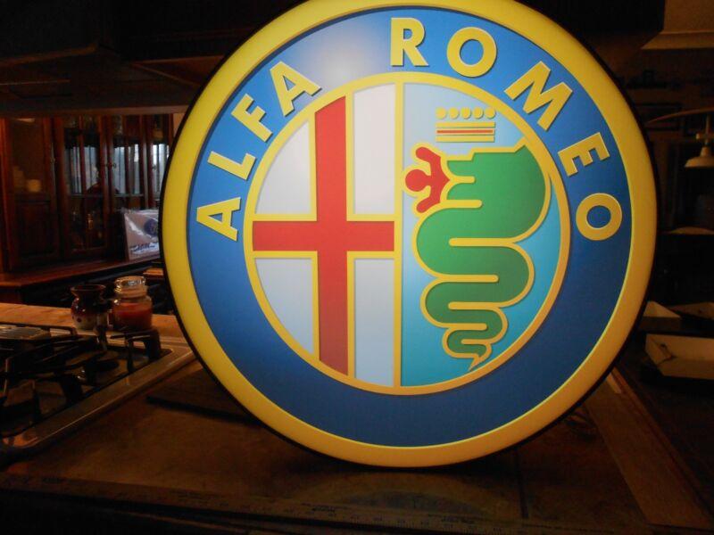 Alfa Romeo Lighted Sign