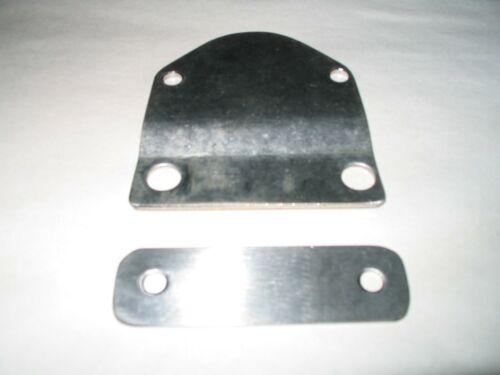 MGTD TF  FUEL PUMP  MOUNTING PLATE  STAINLESS STEEL