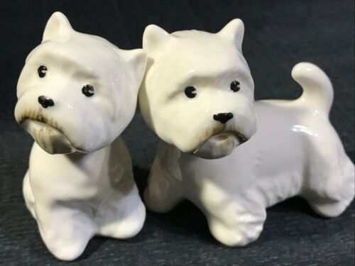 West Highland White Terrier porcelain figurine Dogs Gifts Souvenir high quality