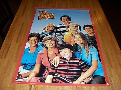 The Brady Bunch Poster 24 X 36 Out of Print Bobby Cindy Greg Marsha Jan Peter