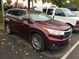 2016 Toyota Highlander XLE XLE, LEATHER, SUNROOF, AWD,