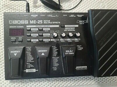 Boss ME-25 Guitar Multi Effects Pedal Processor