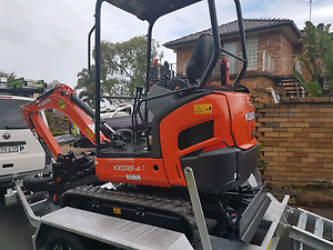 Kubota 1.8 excavator for hire Lilli Pilli Sutherland Area Preview